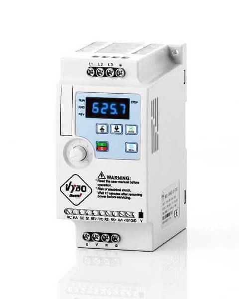 frekvenčné meniče A550 vybo electric
